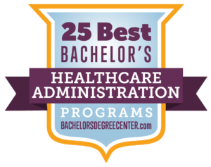 bachelors in healthcare administration
