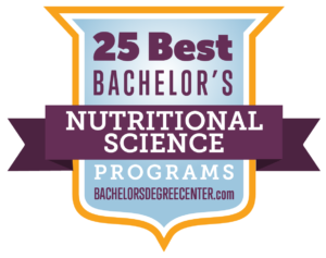 25 Best Bachelor's in Nutritional Sciences Degree Programs for 2019