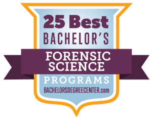 25 Best Bachelor S In Forensic Science Degree Programs For 2019 Bachelors Degree Center
